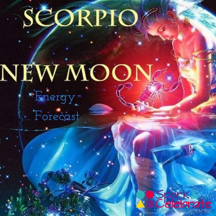 Anyone else celebrating the New Moon in Scorpio today? Read on for your Energy Forecast.  Are you feeling a push to wrap up your 2017 intentions? Scorpio helps us with the cycles of death rebirth and transformation. As you are kind and honest with yourself for the next 24 hours allow yourself to be healed. Scorpio helps us to let go in order to heal the past recreate and begin anew with passion! #trustandsurrender   New Moon are times to set your clear intentions/create wishes for the next 6…