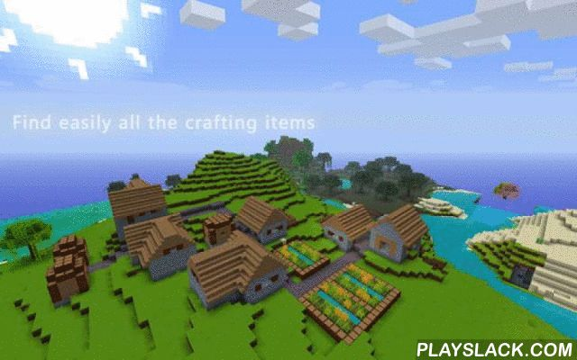 Guidecraft For Minecraft  Android App - playslack.com ,  Looking for crafting items within Minecraft? Want to learn how to design unique creations? İf so this application is perfect for you! Guidecraft is a Guide for Minecraft. Find easily all the crafting items including : • Basic • Block • Tool • Defence • Mechanism • Food • Other • Dye • Wool • Brewing • Weapons • Armor • Transportation • Miscellaneous Guidecraft, contains very useful information about every single item( block &amp…