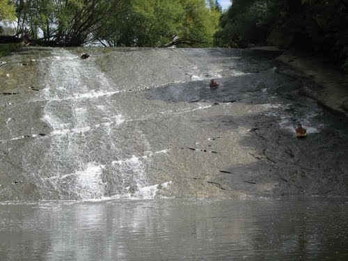 rere natural rock slide.... gisborne nz