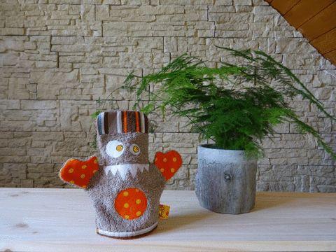 Nouvelle collection de gants de toilette monstrueux, mais câlins, de Patati Patata