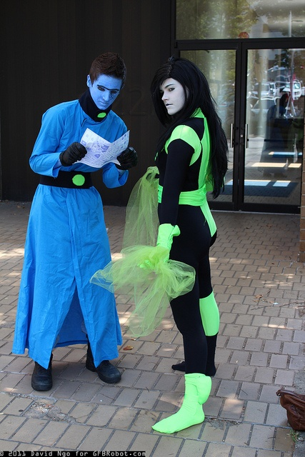 Dr. Drakken and Shego | Flickr - Photo Sharing!
