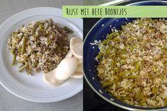 Vandaag hebben we een heel lekker recept van Debora, namelijk rijst met hete sperziebonen. Het is een super simpel gerecht dat binnen 30 minuten op tafel staat. Benieuwd? Kijk dan gauw verder! Heb jij ook een lekker en simpel gerecht?Stuur je recept (met foto) dan naar info@lekkerensimpel.com of stuur je recepthierin. Recept voor 4 personen...Lees Meer »