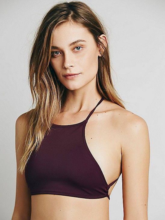 Made By Dawn High Neck Crop Top at Free People Clothing Boutique