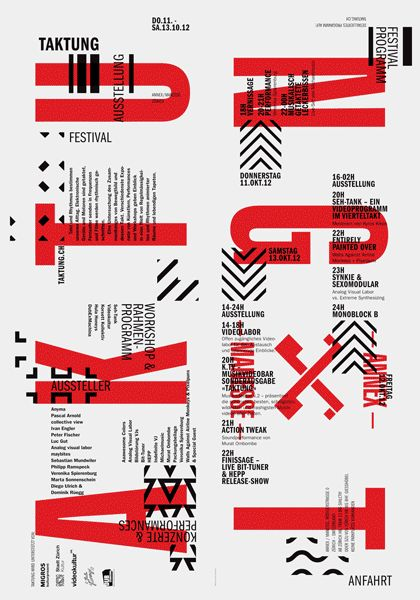 Maybe it's Great / Graphic Design Inspiration, taktung by typosalon from Switzerland