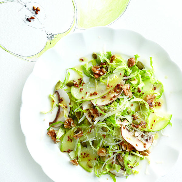 Try this vitamin-packed apple and walnut salad recipe, and many other fantastic salad recipes, at Chatelaine.com