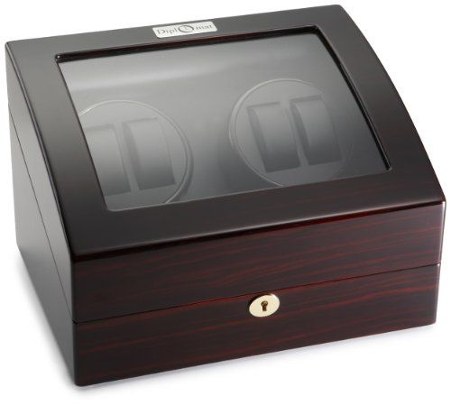 Diplomat Ebony Wood Quad Watch Winder with Black Leather Interior and 4 Program Settings Diplomat http://www.amazon.com/dp/B002ZB8806/ref=cm_sw_r_pi_dp_id9xub0NWCKF5