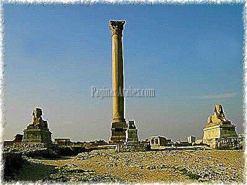 Los cimientos de Alejandría, la gran ciudad de Alejandro Magno