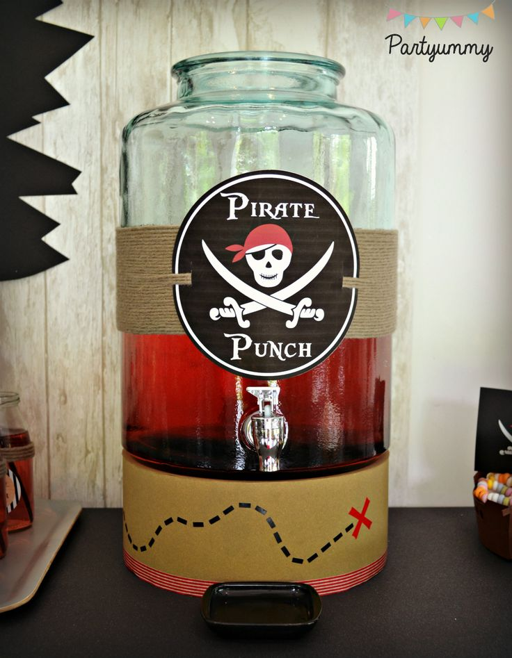 Top 25 best deco pirate ideas on pinterest pirate pirates and chambre de - Deco anniversaire enfant ...