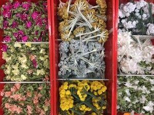Offerta 500 fiorellini colori e dimensioni misti.