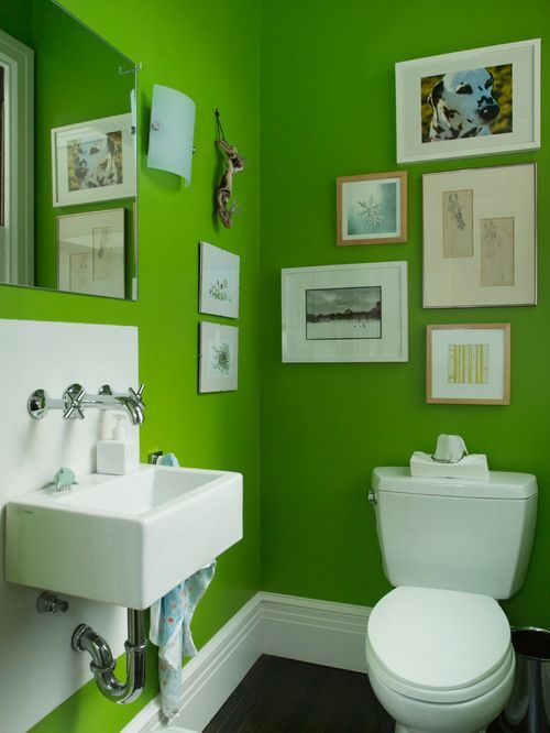lime green home design ideas pictures remodel and decor - Bathroom Accessories Lime Green