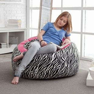 Love This Large Peace Bean Bag Chair For A Girls