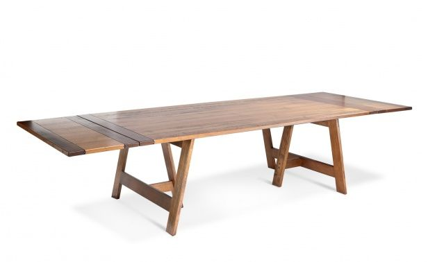 Coco Republic Sailmaker Dining Table, think we might need the extension table