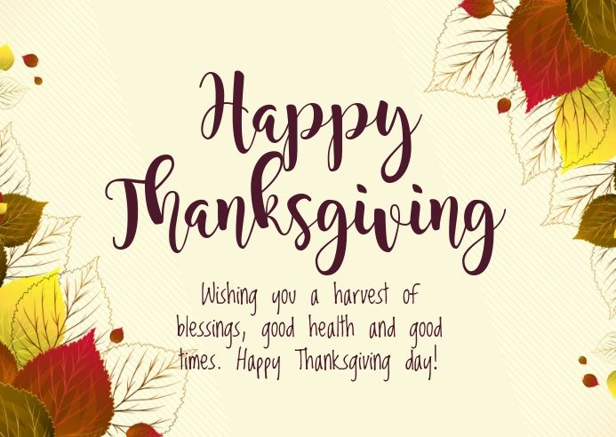 Thanksgiving Wishes In 2020 Thanksgiving Poster Thanksgiving Wishes Happy Thanksgiving Day