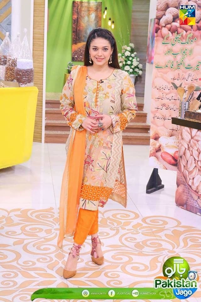Different Looks of Sanam Jung at Morning Show