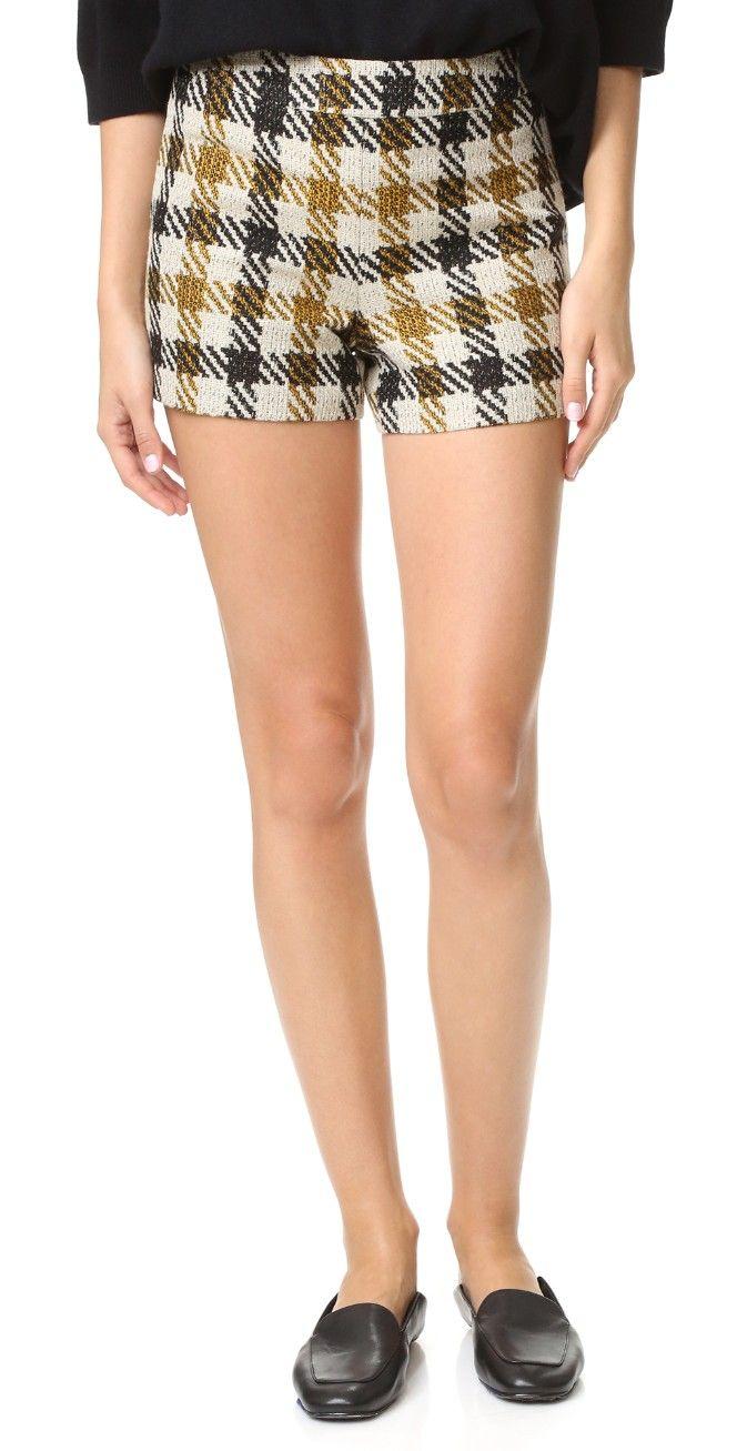 alice + olivia Marisa Back Zip Shorts | SHOPBOP