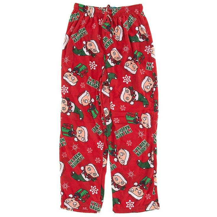 Family Guy Christmas Pajama Pants for Men