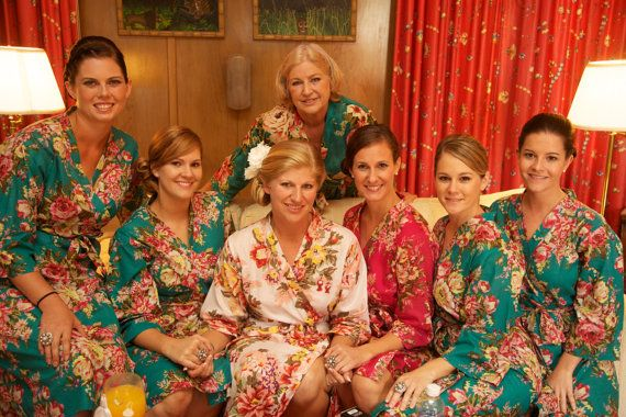 Ordered - Kimono robe - 1 Mother of the Bride, 1 Mother of the Groom, 4 Bridesmaids, 1 Maid of honor.  Love them!