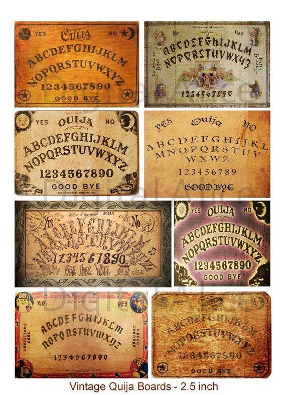 Las tablas OUIJA VINTAGE Digital descargas por DigitalAlice