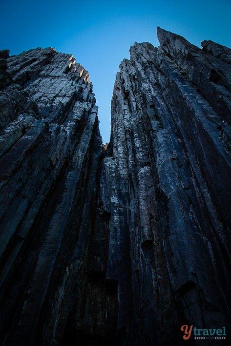 Cape Pillar - Highest Sea Cliffs in Southern Hemisphere, Tasmania, Australia