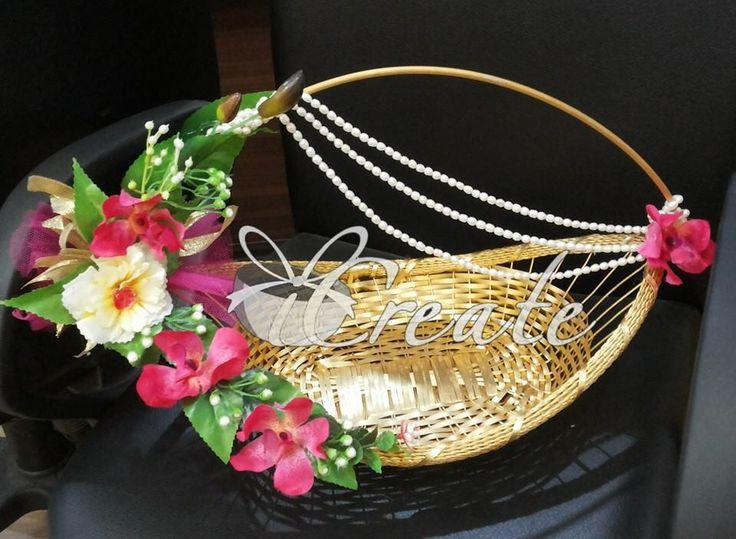 boat shape basket