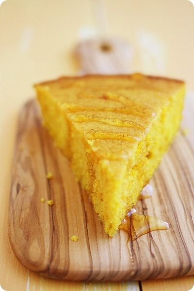 """Pumpkin Cornbread Recipe - I doubled the recipe and made in a 9x13 pan; next time I'll double and make in an 8"""" square pan (it wasn't very thick, but very good!)"""