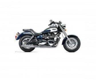 The Triumph America Cruiser bike listed here has been used for a year and is in terrific condition. All maintenance records have been carefully preserved for future reference. This bike is an 865cc cruiser that returns a torque of 53 ft/lbs at 3300rpm.