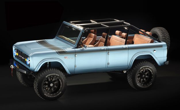 The Four Horseman Is a Four-Door Vintage Ford Bronco!   News   Car and Driver   Car and Driver Blog