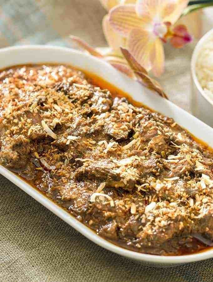 Beef Rendang The Easy Cheater Instant Pot Recipe Instant Pot