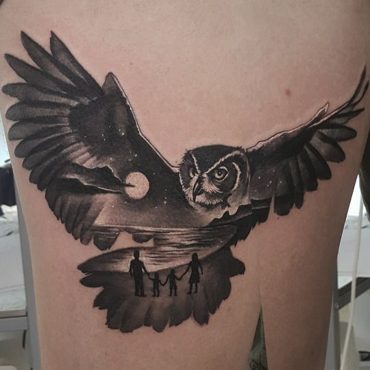 28 Owl Tattoo Designs Ideas: Best 25+ Geometric Owl Tattoo Ideas On Pinterest