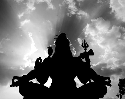 "Shiva #Hinduism meaning ""The destroyer of the Worlds, is the manifestation of Supreme God in one of his three forms, the others being Brahma - the creator and Vishnu the Preserver - Hinduism Trinity."