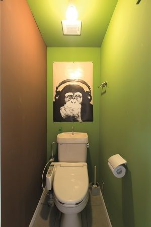 vol.1 トイレは派手に、大胆に!?|リノベりす