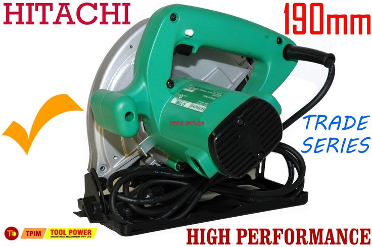 Hitachi circular saw 190mm with free case & extra blade