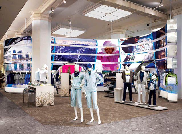Sporting Goods Retail Design Inspiration