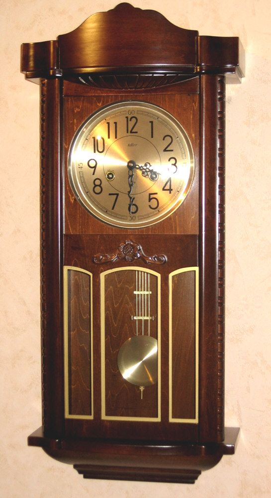 Replika zegara mechanicznego GUSTAV BECKER z wyłącznikiem bicia (11002)