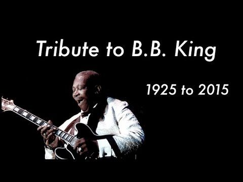 Tribute To Bb King Legend Of Bb King A Blues Guitar