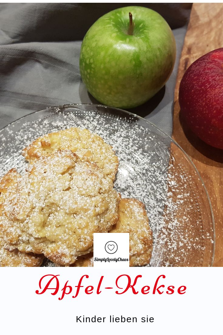 Rezept für Apfel Kekse