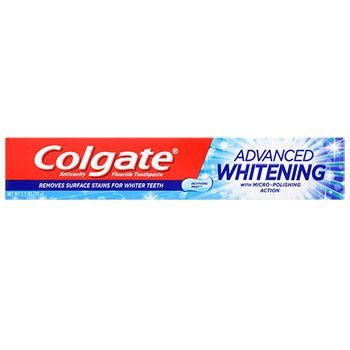 Colgate Advanced Whitening Toothpaste, 2.5-oz. Tube