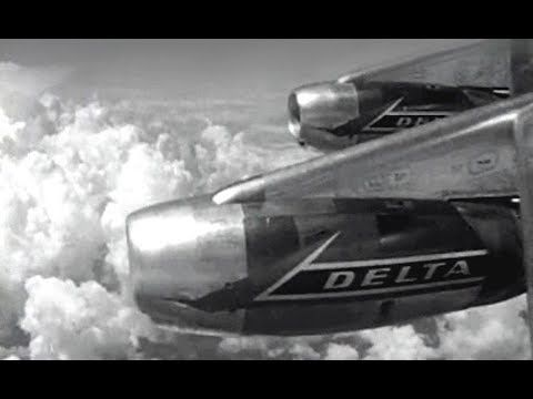 Liked on YouTube: Delta Douglas DC-8 & Convair CV-880 Commercial - 1961
