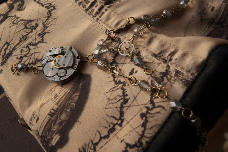 by Petra Slováková #victorian #steampunk #steamgirls #českysteampunk #corset #historical #19th #aristocrat #photo #gothic #lady #fantasy #alternative #fashion #Baloon #costume #dark #emotive #jewels #jewelry #bracelet #clock #handmade