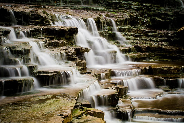 Albion Falls in Hamilton Ontario (by Christopher Brian) - Hamilton, Ontario, Canada is the waterfall capital of the world.