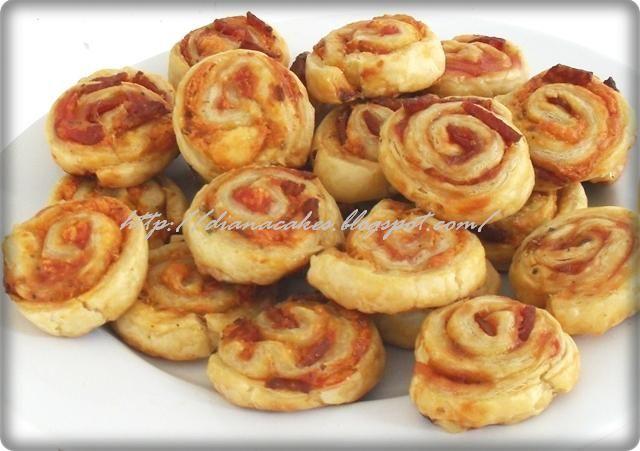 diana's cakes love: Mini-pizza in foietaj