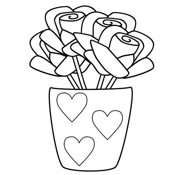 240 best Kleurplaten hart valentijn moederdag vaderdag images