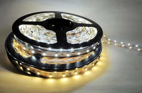 using those tape LED's for under-cabinet or out-of-sight lighting. also mood lighting for bedroom/living room