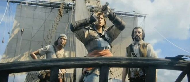 Cool New E3 Trailer For Assassins Creed 4 (What was that crystal thing Ed was holding?! New piece of Eden?)