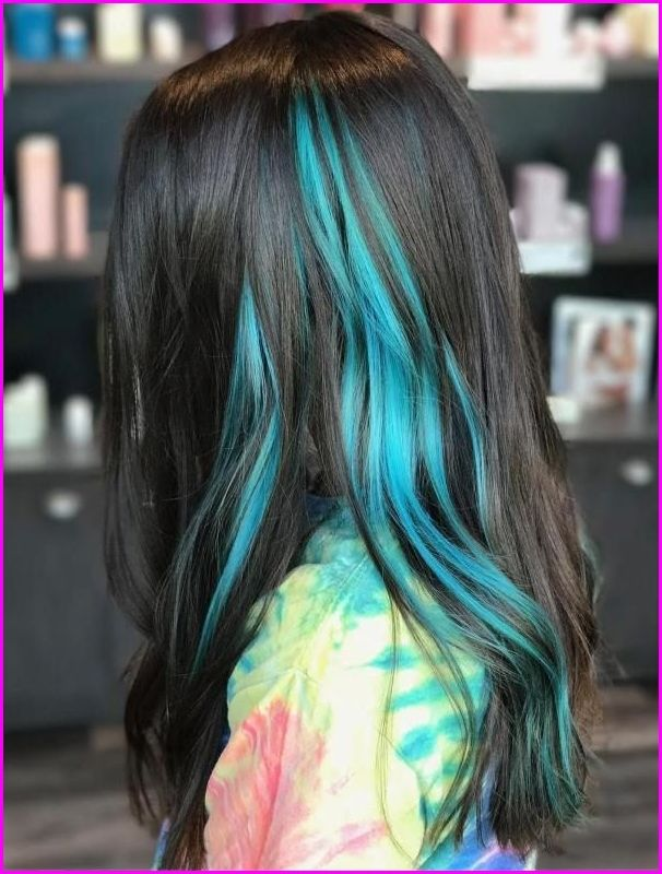 50 Blue Hair Highlights Ideas Blue Hair Color Highlights Blue