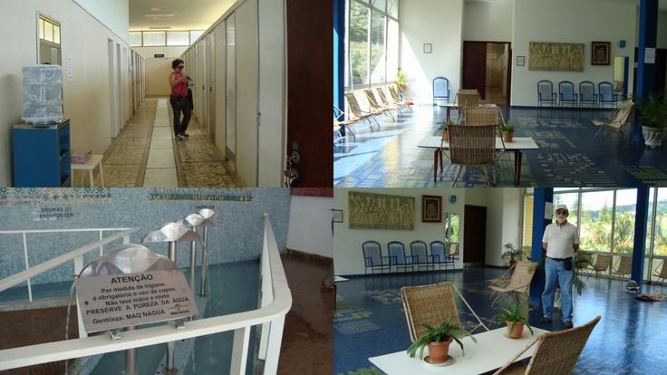 """Pato Velho: """"No Balneário é possível encontrar diversas atividades para quem busca os benefícios de suas águas termais: banhos de imersão, hidromassagens, terapias e serviços de massagistas."""""""