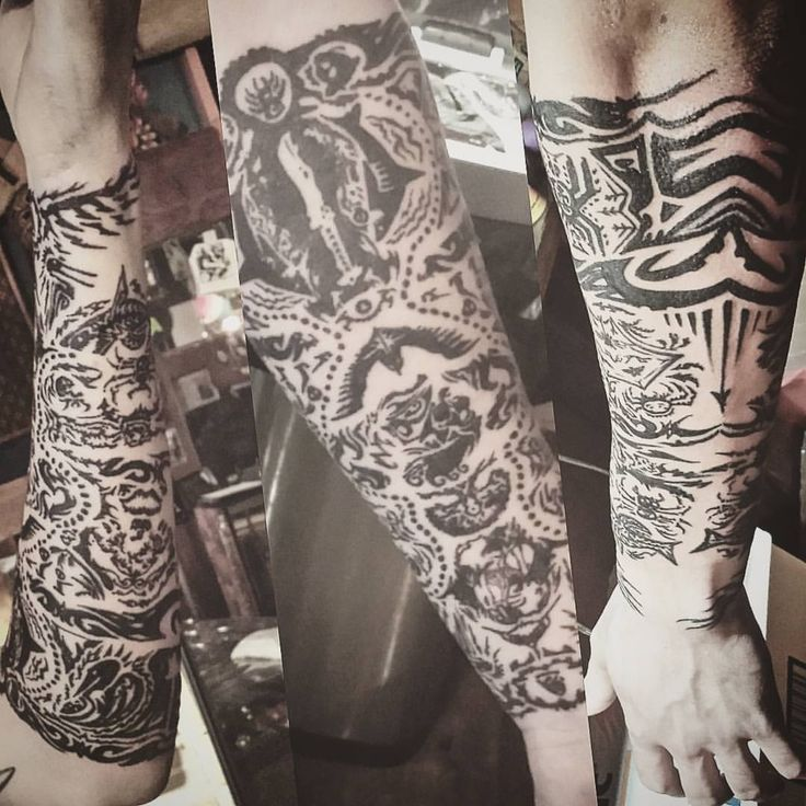 one session the entire sleeve earned in the game far cry 3 by mr winter at american ritual. Black Bedroom Furniture Sets. Home Design Ideas