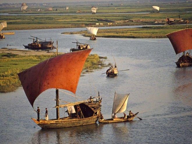 Turag River, Bangladesh | 1,000,000 Places