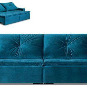 Sofá reclinável. Conforto total!