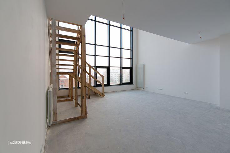 Soft-lofty w Wytwórni - Centrum Praskie Koneser #centrumpraskiekoneser #koneser #softloft #loft #industrial #design